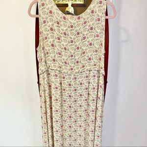 50% OFF April Cornell sleeveless rayon dress